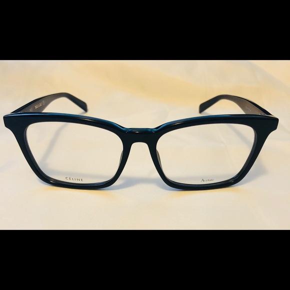 55d203929431 New Celine CL 41345 Black RX Optical Frame Eyewear